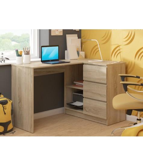 Rašomasis stalas - vaiko kambario baldai, vaikiskos lovos, lovos vaikams, vaikiskos lovytes, dviaukste lova