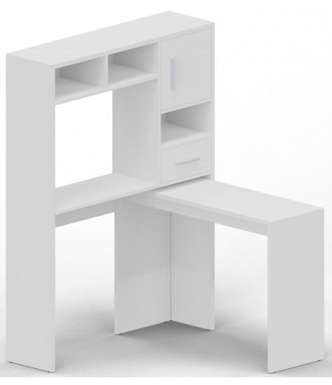 Rašomasis stalas - transformeris - 2 - vaiko kambario baldai, vaikiskos lovos, lovos vaikams, vaikiskos lovytes, dviaukste lova