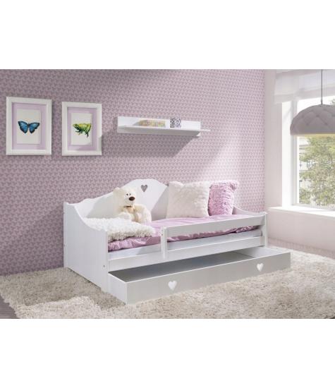 Vaikiška lova-sofa Amore, provanso stiliaus - vaiko kambario baldai, vaikiskos lovos, lovos vaikams, vaikiskos lovytes, dviaukste lova