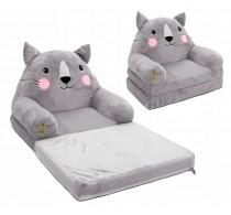 Minkštas fotelis Katinas