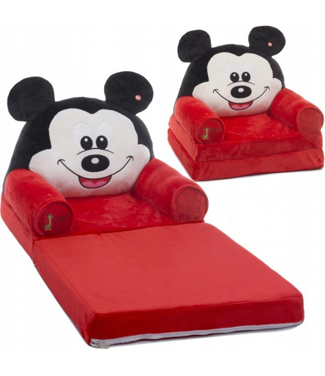 Minkštas fotelis Mikey - vaiko kambario baldai, vaikiskos lovos, lovos vaikams, vaikiskos lovytes, dviaukste lova