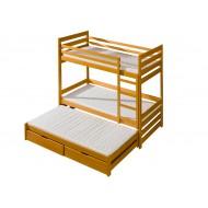 Trivietės lovos