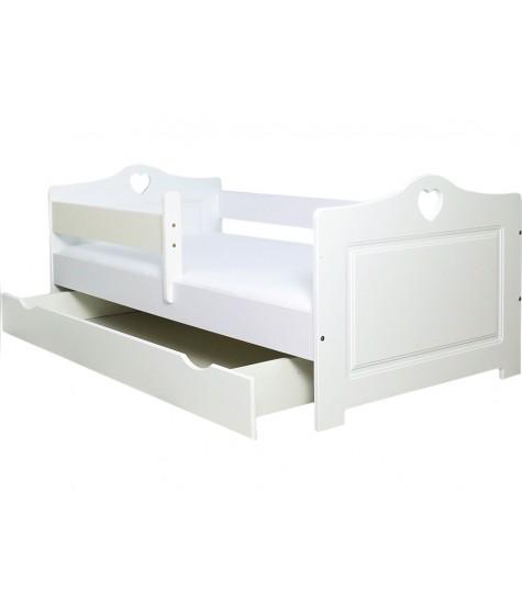 Vaikiška lova Lulu-2 - vaiko kambario baldai, vaikiskos lovos, lovos vaikams, vaikiskos lovytes, dviaukste lova