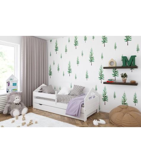 Vaikiška lova Lulu-3 - vaiko kambario baldai, vaikiskos lovos, lovos vaikams, vaikiskos lovytes, dviaukste lova