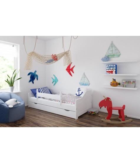 Vaikiška lova Lulu-4 - vaiko kambario baldai, vaikiskos lovos, lovos vaikams, vaikiskos lovytes, dviaukste lova