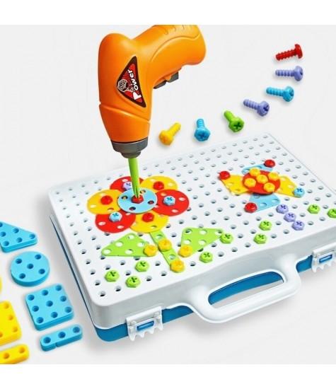 Edukacinis žaidimas su atsuktuvu  - vaiko kambario baldai, vaikiskos lovos, lovos vaikams, vaikiskos lovytes, dviaukste lova
